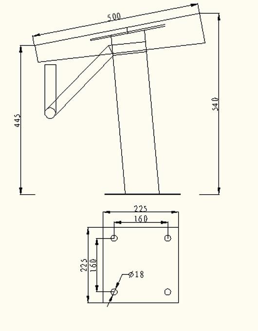 固定式出发台(一级,二级)