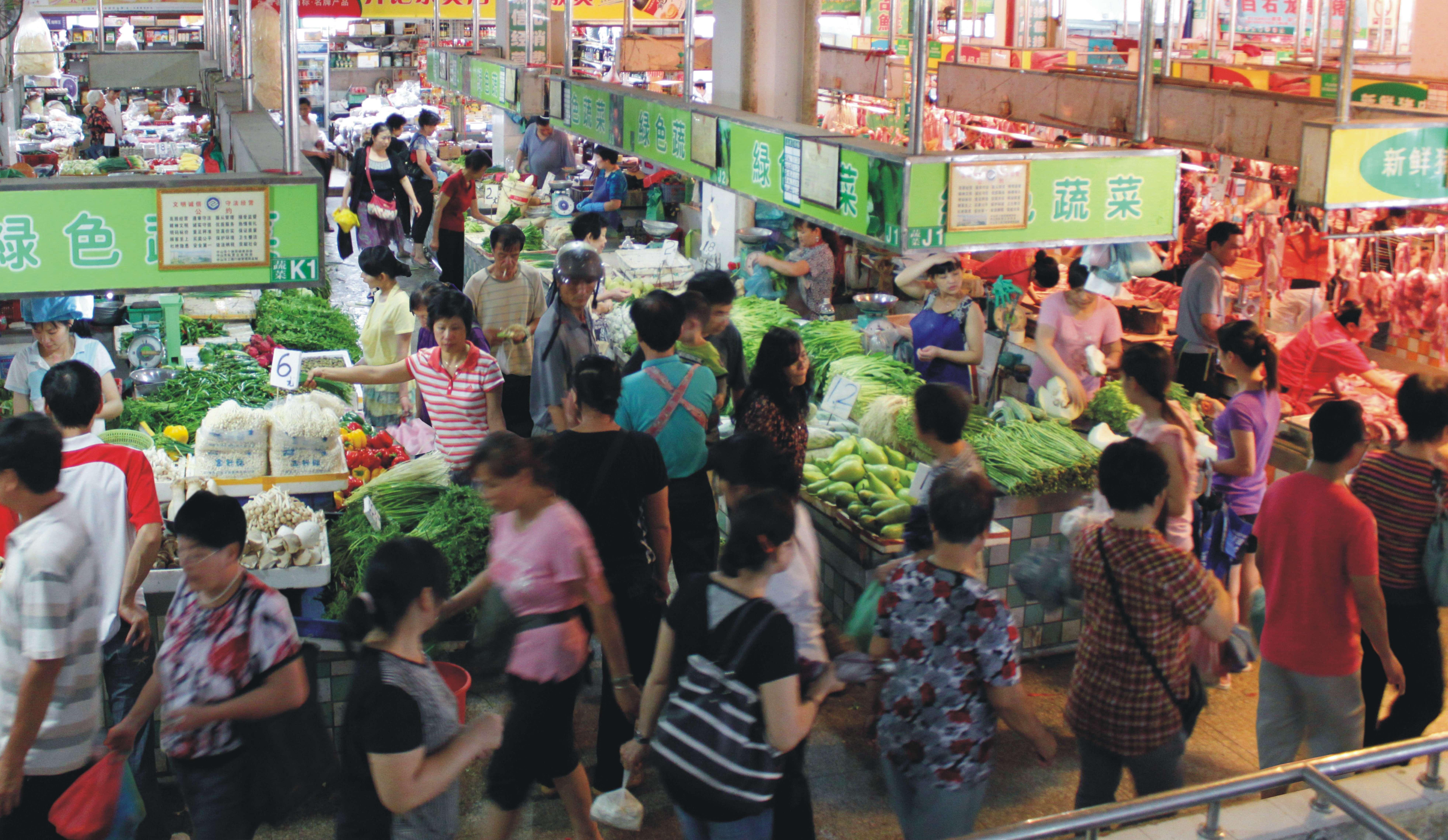 民族东市场内景1