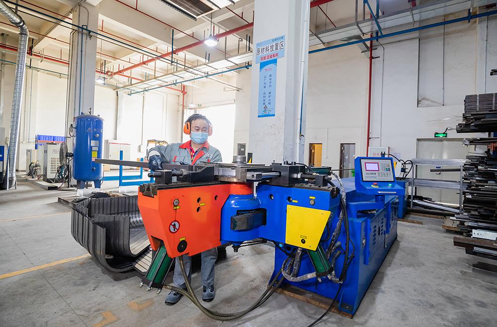 Hi-speed Auto Tube-bending Machine