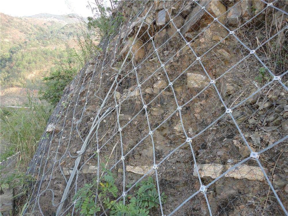 柔性主动防护网