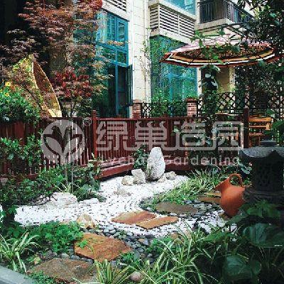 日式枯山水庭院