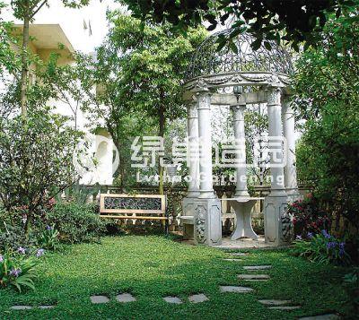 原山别墅花园设计施工
