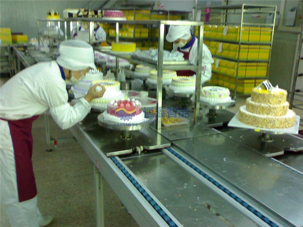 生日蛋糕生产线