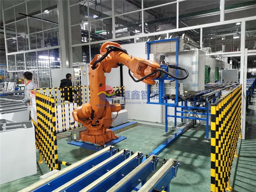 机器人翻转