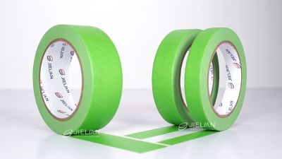 7 Days UV Resistant Green Masking Tape MT662G  For Outdoor Painting