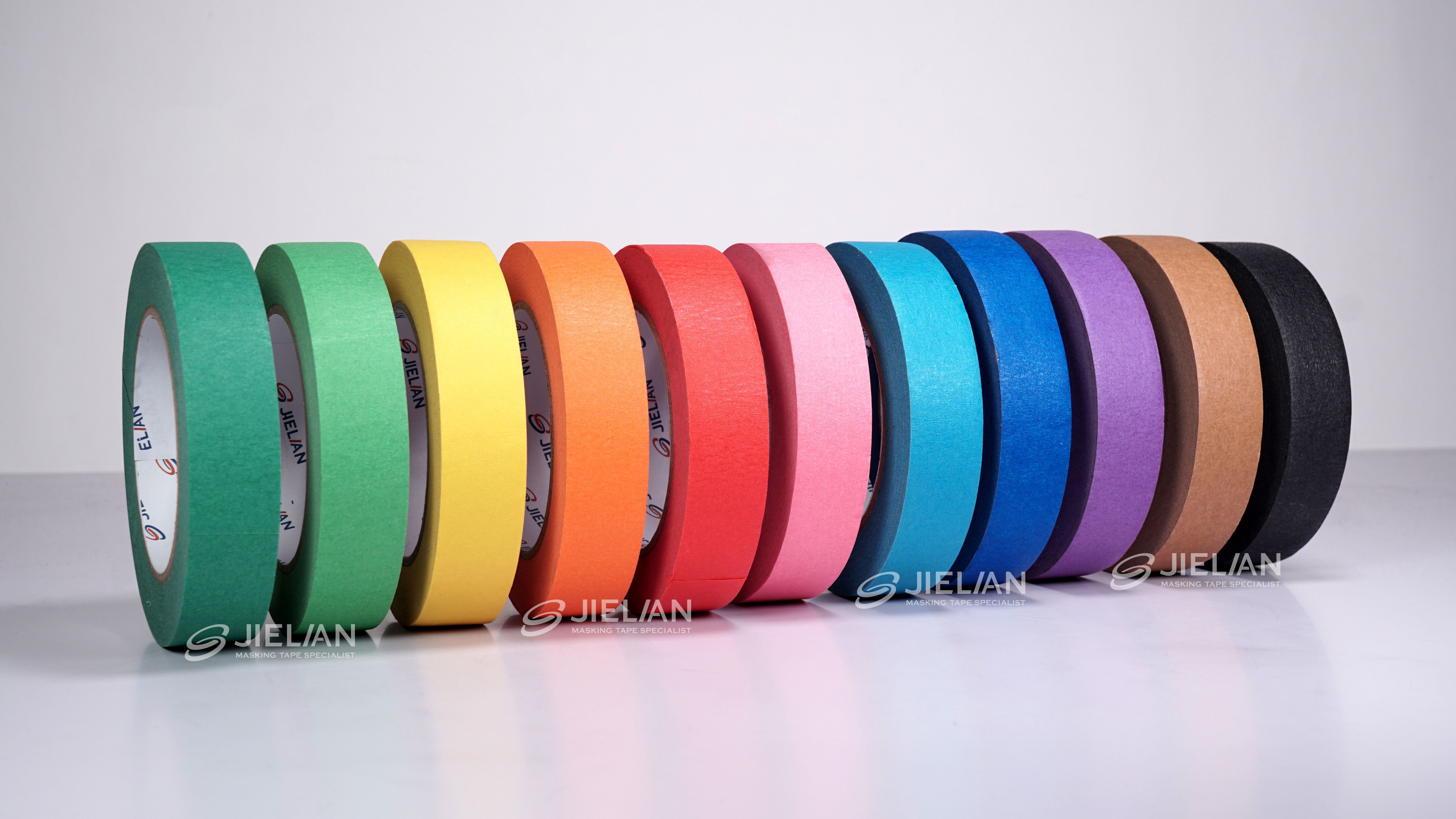 Rainbow Color General Purpose Masking Tape MT62 For Home Painting