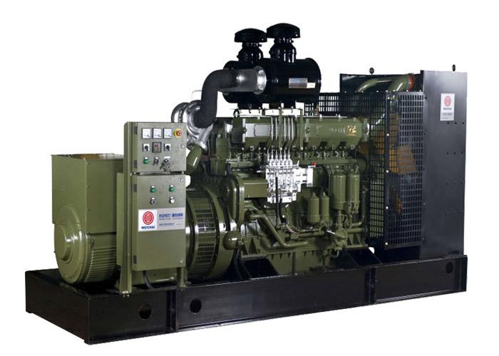 170系列—潍柴400kW陆用柴油发电机组