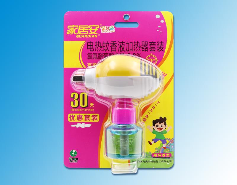 寶貝健-(果味香型)電熱蚊香液吸塑裝