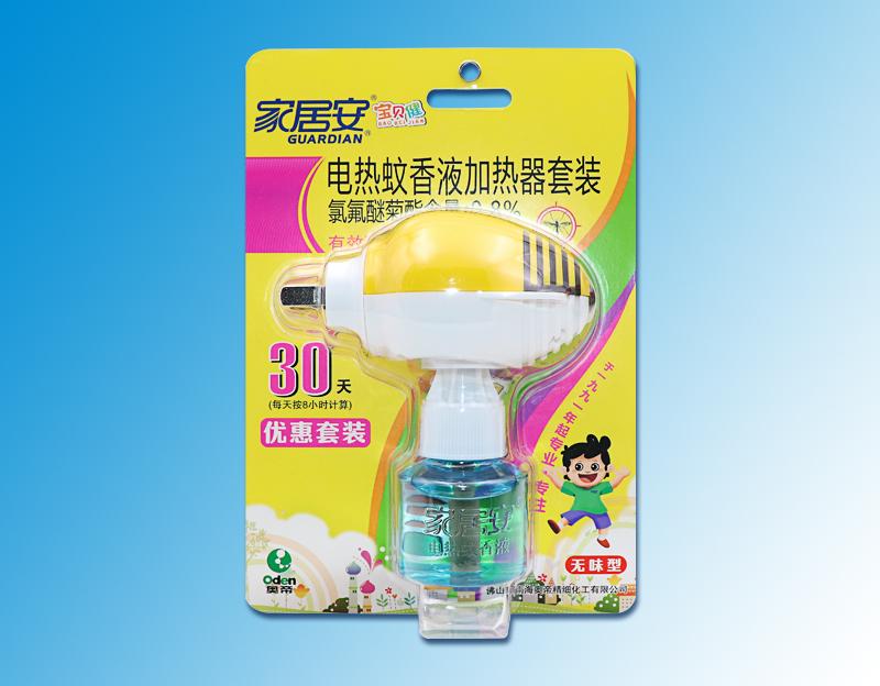 寶貝健-(無味型)電熱蚊香液吸塑裝