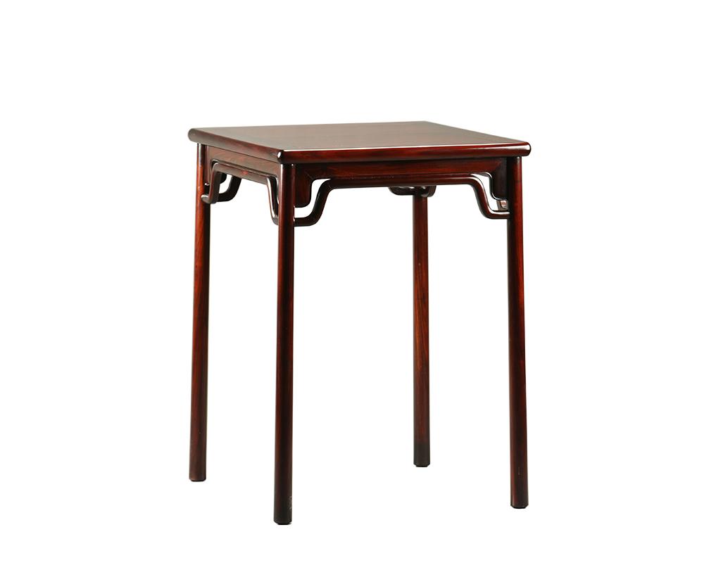 A7027 弓字顶小方桌