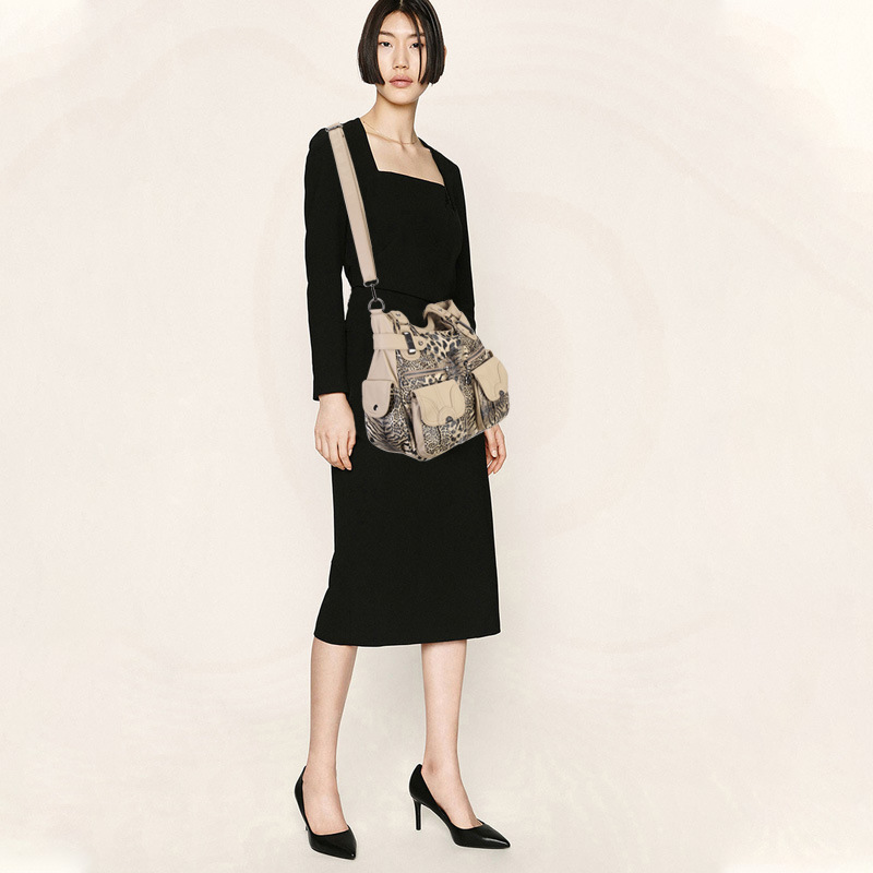 20新款Angel kiss品牌女包欧美豹纹女士手提包软皮时尚单肩斜挎包