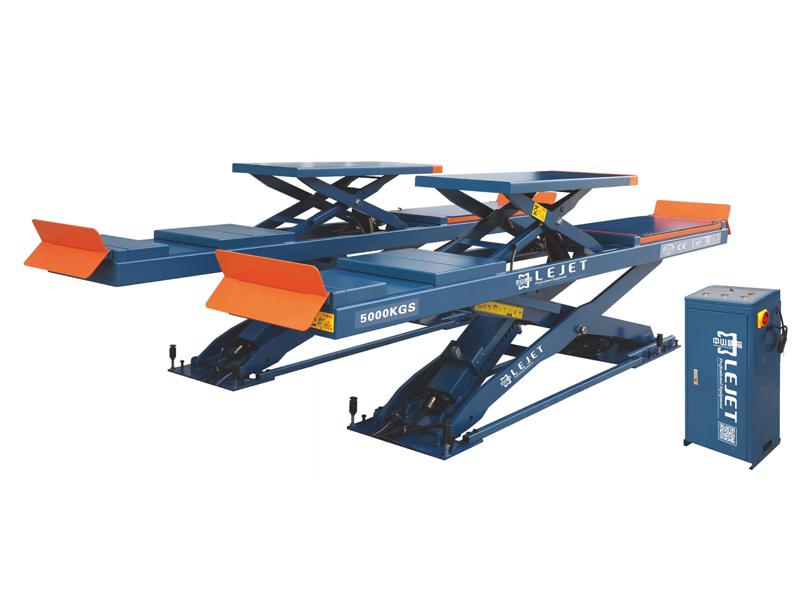 QY-6108A 5吨子母地藏式四轮定位举升机