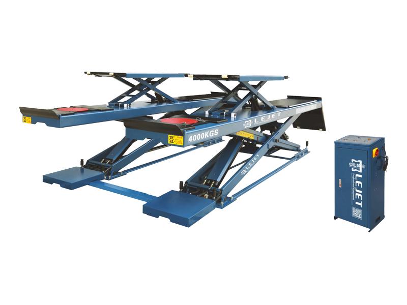 QY-6108D 4吨子母超簿式四轮定位举升机