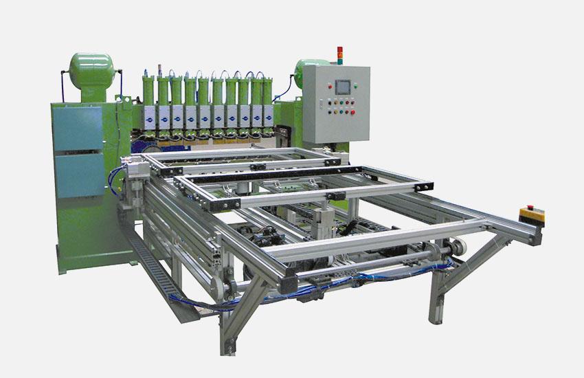 廣州眾幫焊接設備-全自動龍門式排焊機