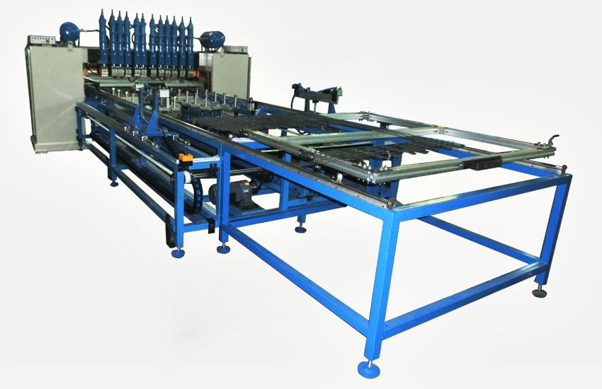 龍門排焊機-廣州毅翚機械-焊網機
