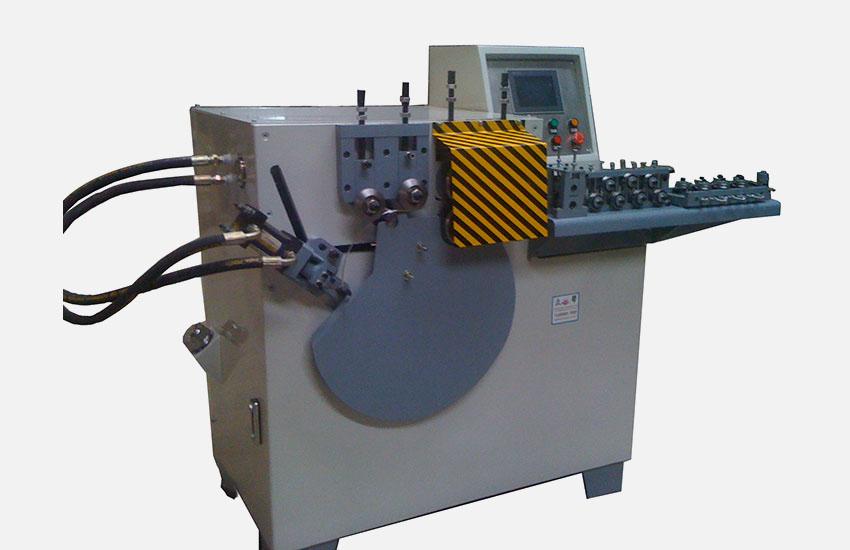 Servo looping machine