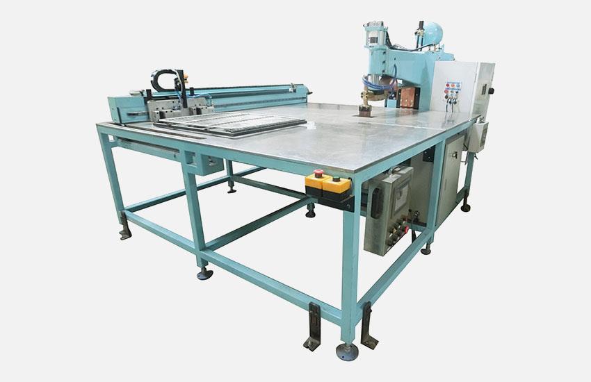 廣州眾幫焊接設備-平臺式xy軸自動排焊機