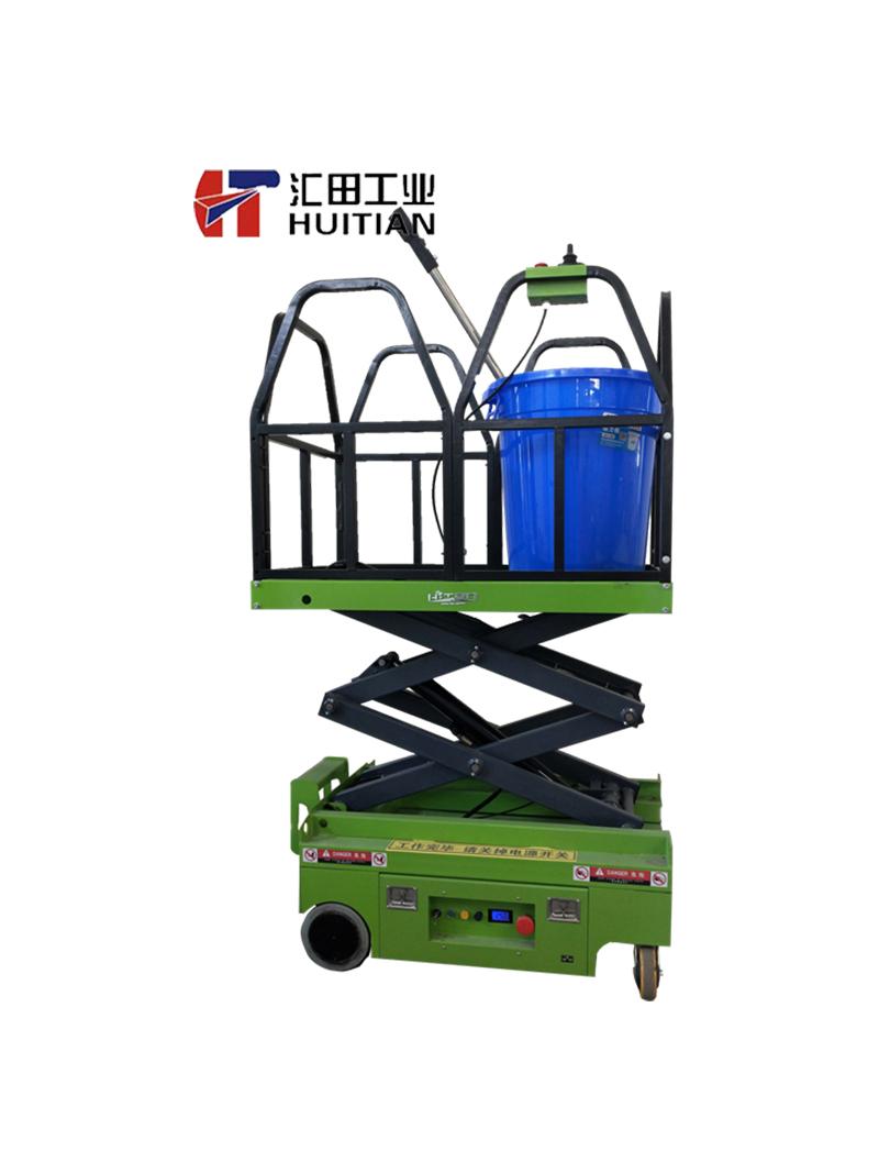 蚕房电动工作平台