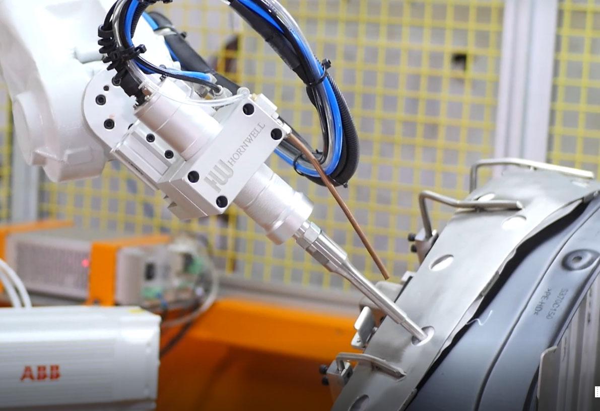 超声波焊接机械人