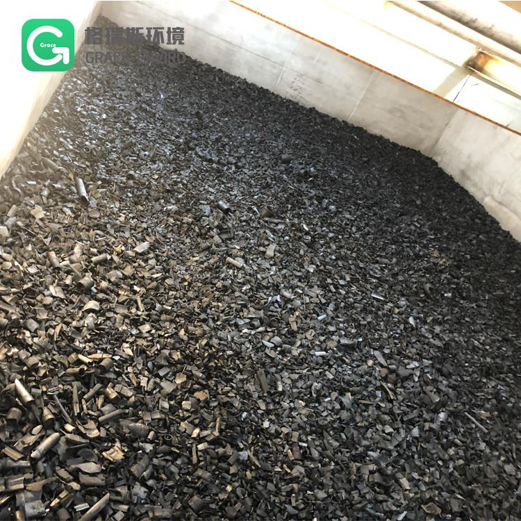 炭质填料 竹炭颗粒