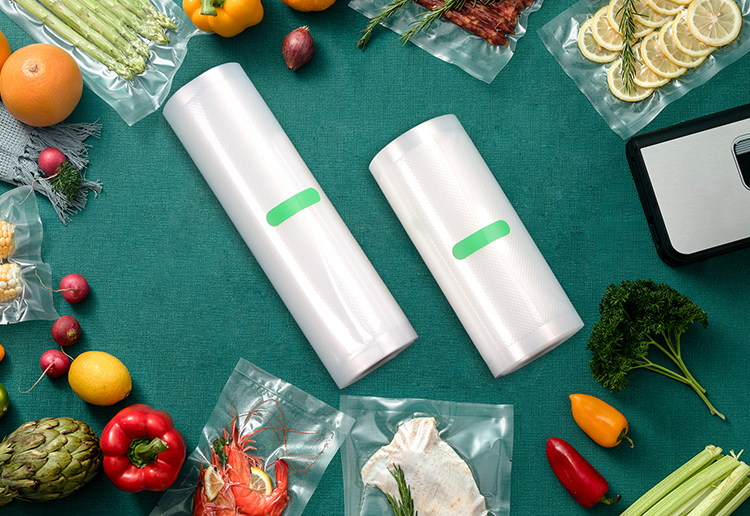 15*20cm Jeya Customized Multilayer Co-extruded Embossed Vacuum Seal Bags For Food Packaging