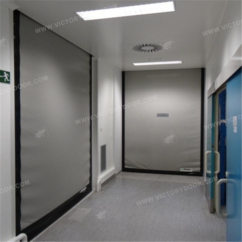 High cleaning grade high-speed door